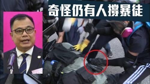 警槍被搶走意味生命不保   林志偉指警會作必須決定
