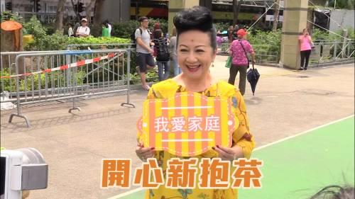 薛家燕與千人泡茶創紀錄      最開心飲過新抱茶